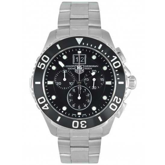 Tag Heuer Aquaracer Grande Date Chronograph CAN1010.BA0821