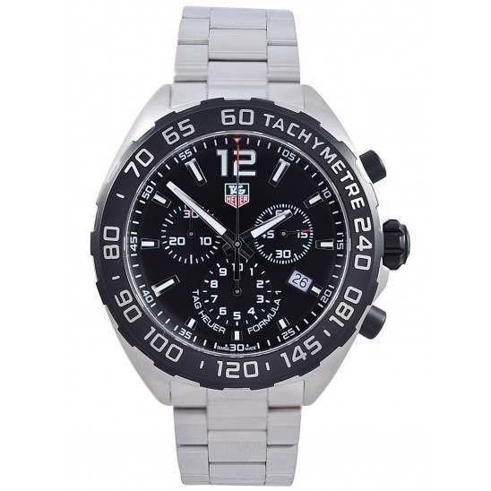 Tag Heuer F1 Quartz Chronograph Black Dial CAZ1110.BA0877