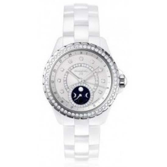 Chanel J12 White Function Moonphase H3405