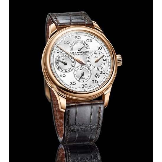 Chopard L.U.C Regulator Silver Dial 161971-5001