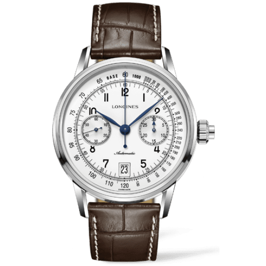 Longines Column-Wheel Single Push-Piece Chronograph L2.800.4.23.2