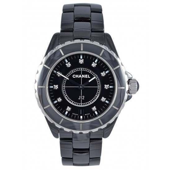 Chanel J12 Black Ceramic H2124