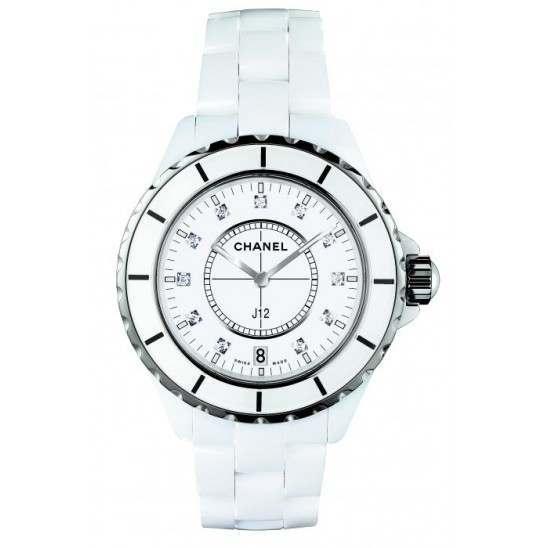 Chanel J12 White Ceramic H2125
