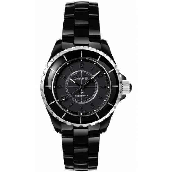 Chanel J12 Black Classic Intense Black H3829