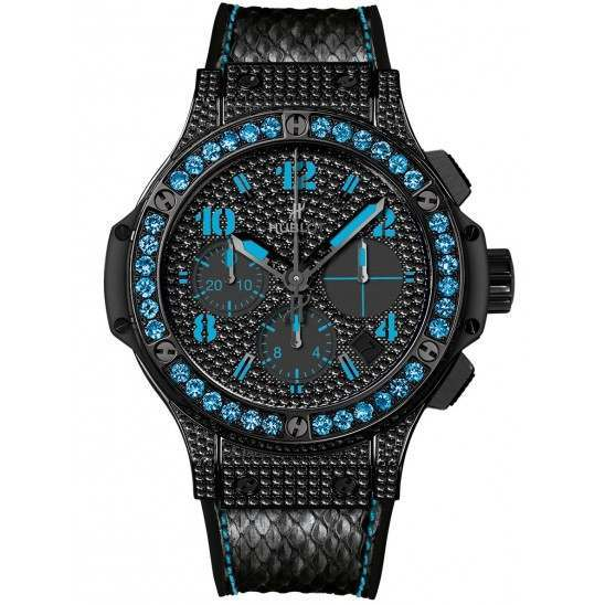 Hublot Big Bang Black Fluo Blue 41mm 341.SV.9090.PR.0901