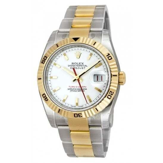 Rolex Turn o Graph - 116263 (WB)