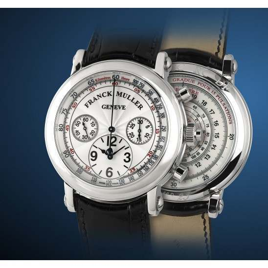 Franck Muller Double Face Chronograph 7008 CC RC DF
