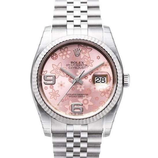 Rolex Datejust Pink Arab Jubilee 116234