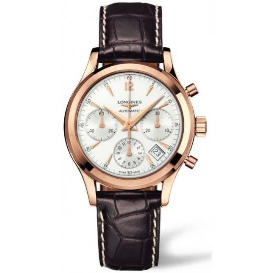 Longines Column-Wheel Chronograph Heritage L2.742.8.76.2