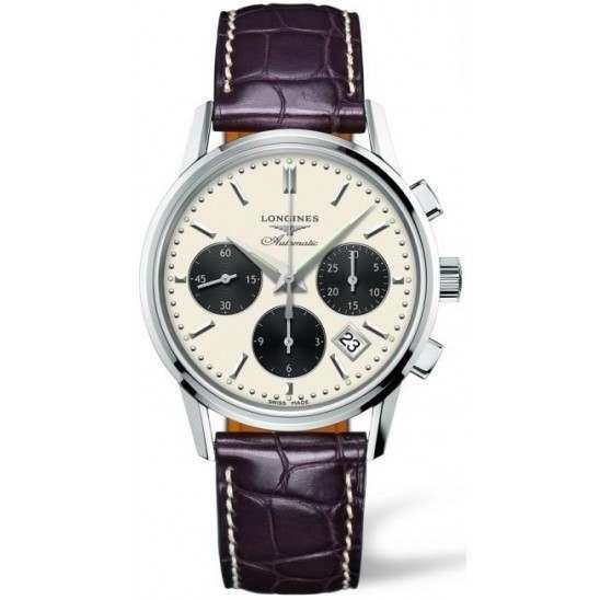 Longines Heritage Column-Wheel Chronograph L2.749.4.02.2