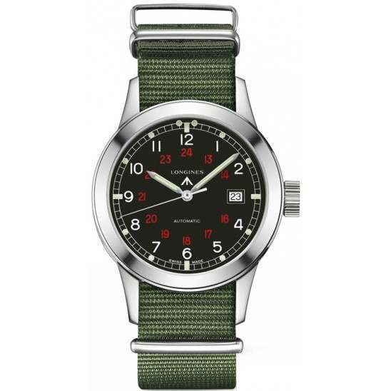 Longines Heritage Collection Military COSD L2.832.4.53.5