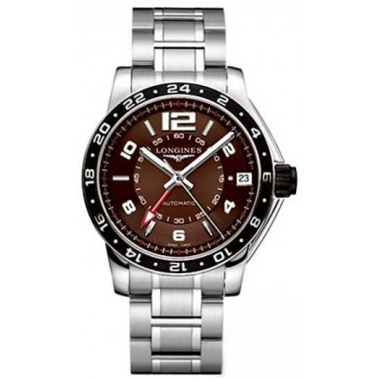 Longines Admiral GMT Second Time Zone Automatic L3.668.4.66.6