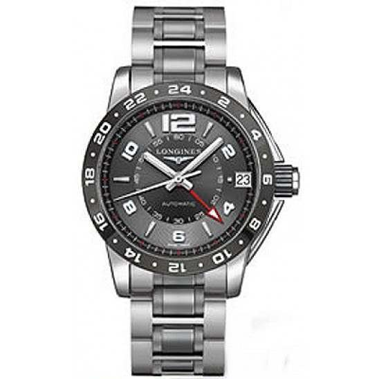Longines Admiral GMT Second Time Zone Automatic L3.669.4.06.7