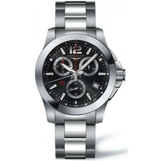 Longines Conquest 1/100th Alpine Skiing 41mm L3.700.4.56.6