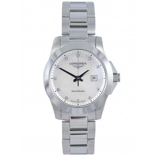 Longines Conquest Quartz Ladies 29.5mm L3.277.4.87.6