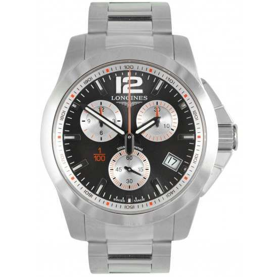 Longines Conquest 1/100th Roland-Garros L3.700.4.79.6