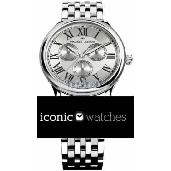 Maurice Lacroix Les Classiques Day/Date/Month Round LC1108-SS002-11E