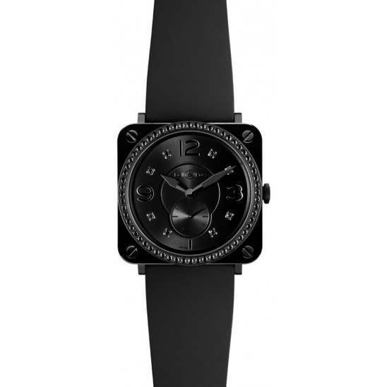 Bell & Ross BR S Quartz Phantom Diamond BRS-BLC-PH-LGD/SRB