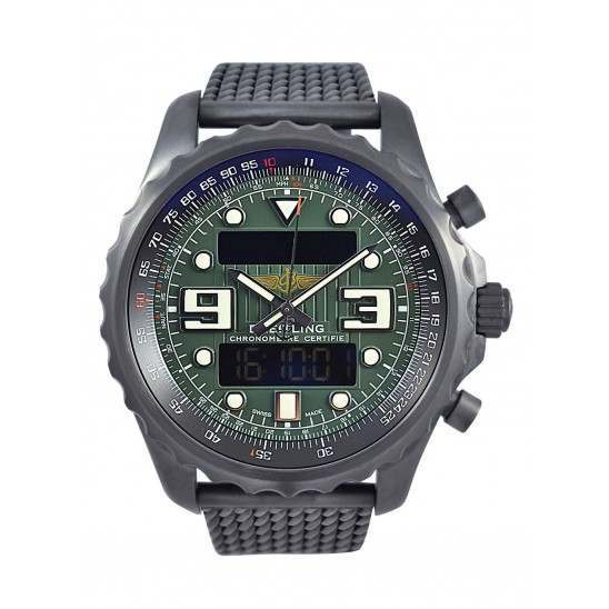 Rare Breitling Chronospace Military Chrono M7836622 - 2015 watch