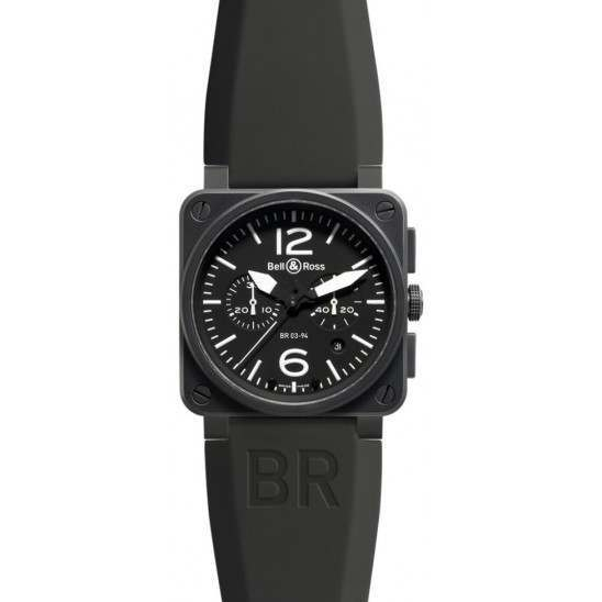 Bell & Ross BR 03-94 Chronographe Carbon BR0394-BL-CA