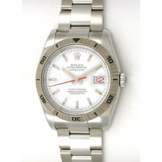 Rolex Turn o Graph - 116264 (WBO)