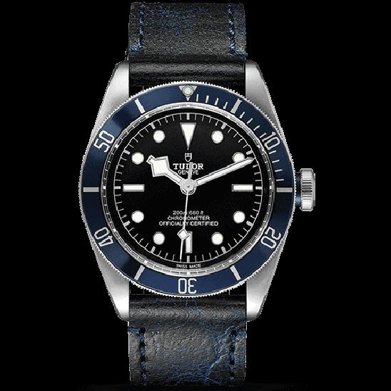 Tudor Heritage Black Bay Blue Leather 79230B