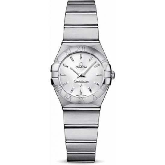 Omega Constellation Brushed Quartz 123.10.24.60.02.001