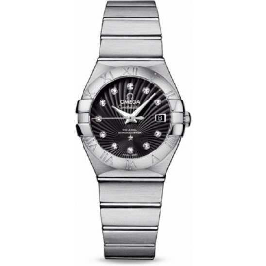 Omega Constellation Brushed Chronometer 123.10.27.20.51.001