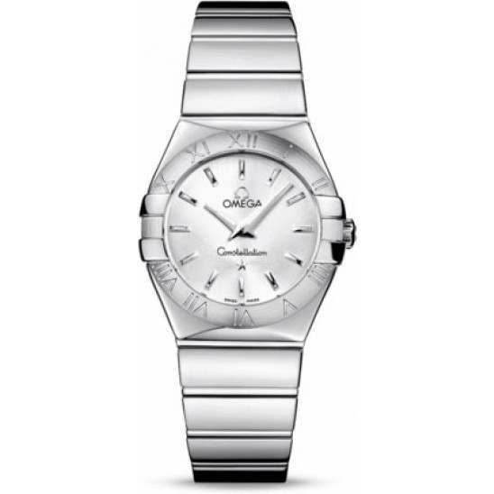 Omega Constellation Polished Quartz 123.10.27.60.02.002