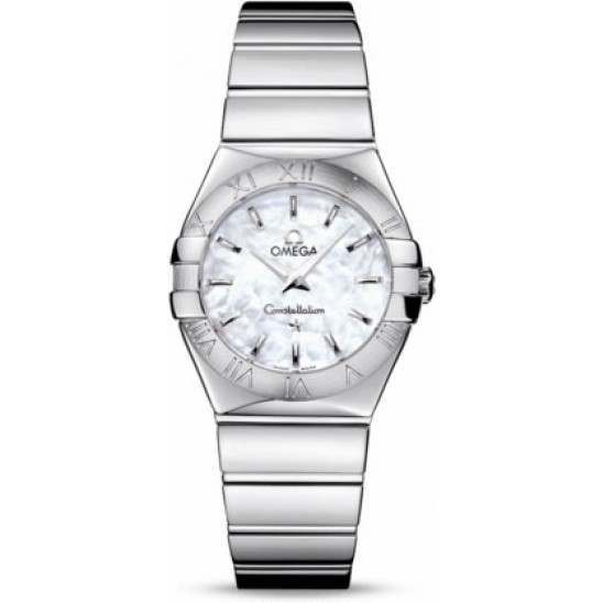 Omega Constellation Polished Quartz 123.10.27.60.05.002