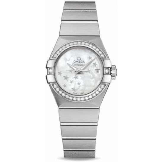 Omega Constellation Brushed Chronometer 123.15.27.20.05.001