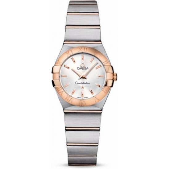 Omega Constellation Brushed Quartz 123.20.24.60.02.001