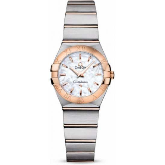 Omega Constellation Brushed Quartz 123.20.24.60.05.001