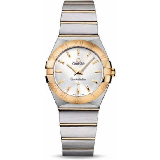 Omega Constellation Brushed Quartz 123.20.27.60.02.002