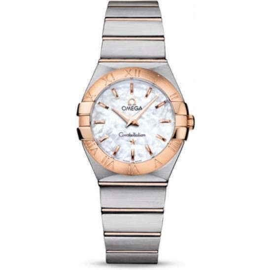 Omega Constellation Brushed Quartz 123.20.27.60.05.001