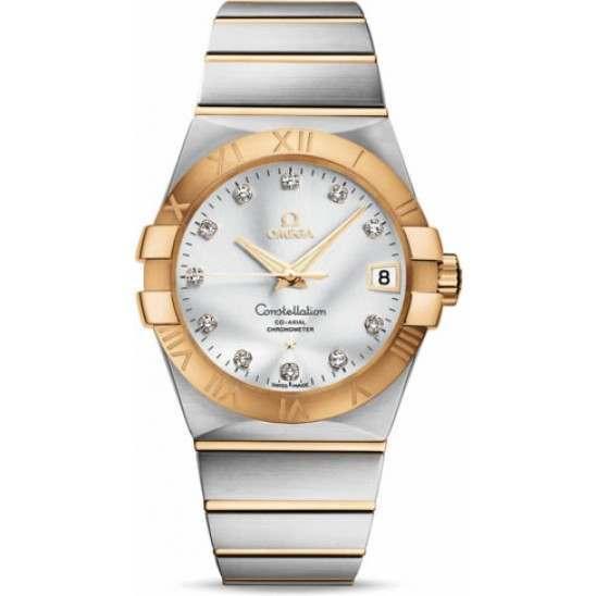 Omega Constellation Chronometer 38 mm Chronometer 123.20.38.21.52.002