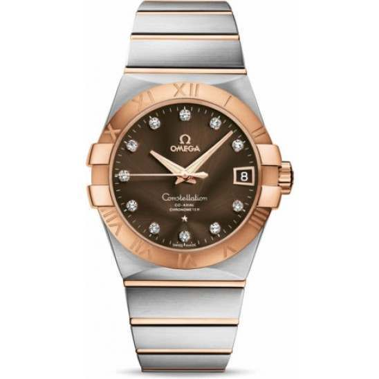 Omega Constellation Chronometer 38 mm Chronometer 123.20.38.21.63.001