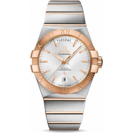Omega Constellation Day-Date Chronometer 123.20.38.22.02.001