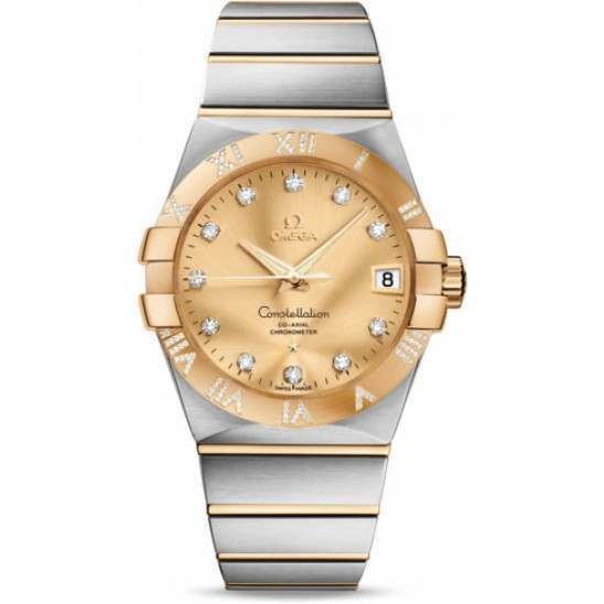 Omega Constellation Chronometer 38 mm Chronometer 123.25.38.21.58.002