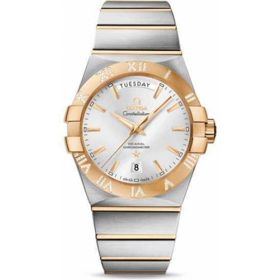 Omega Constellation Day-Date Chronometer 123.25.38.22.02.002