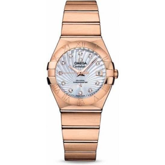 Omega Constellation Brushed Chronometer 123.50.27.20.55.001