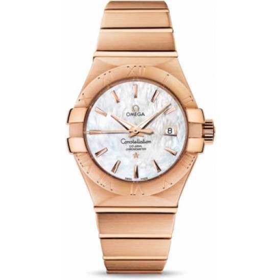 Omega Constellation Brushed Chronometer 123.50.31.20.05.001