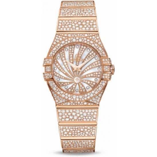 Omega Constellation Luxury Edition Diamonds 123.55.24.60.55.009