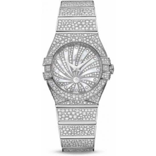 Omega Constellation Luxury Edition Diamonds 123.55.24.60.55.010