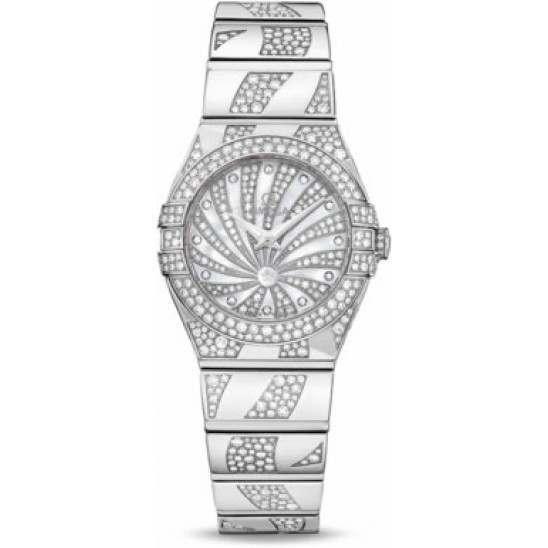 Omega Constellation Luxury Edition Diamonds 123.55.24.60.55.012
