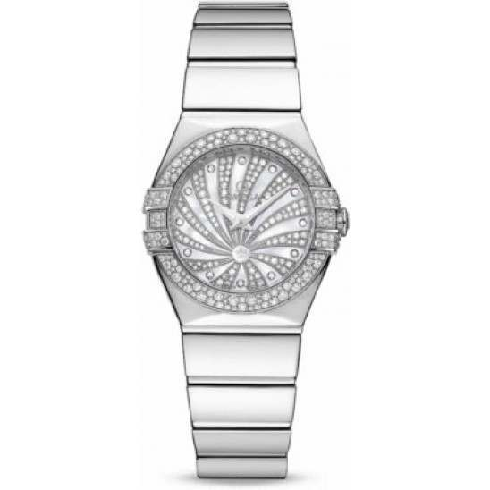 Omega Constellation Luxury Edition Diamonds 123.55.24.60.55.014