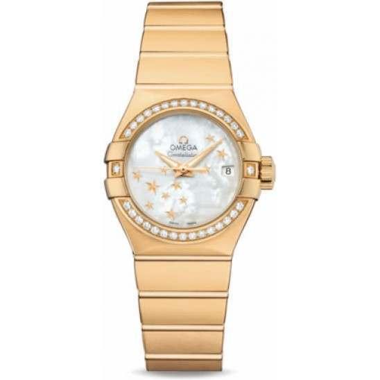Omega Constellation Brushed Chronometer 123.55.27.20.05.001