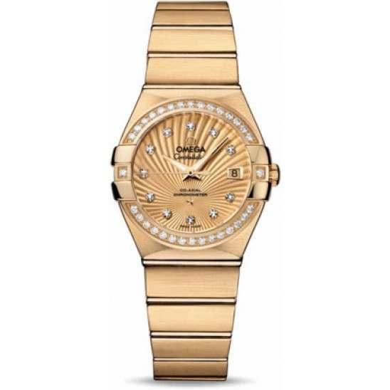 Omega Constellation Brushed Chronometer 123.55.27.20.58.001