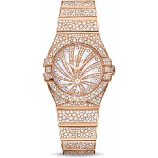 Omega Constellation Luxury Edition Diamonds 123.55.27.60.55.009