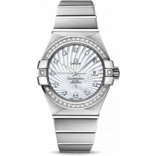 Omega Constellation Brushed Chronometer 123.55.31.20.55.003